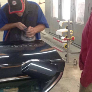 Paintless dent repair project in Killeen, TX